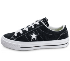 Chaussures Converse One Star Ox Suede Enfant noire