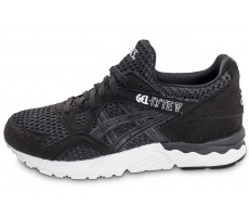 Chaussures Asics Gel Lyte V W noire et blanche
