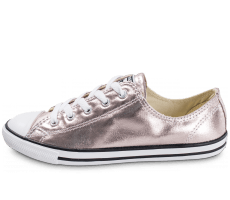 Chaussures Converse Chuck Taylor All Star Dainty OX Metallic rose