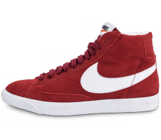 Chaussures Nike Blazer Mid PRM rouge