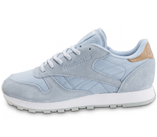 Chaussures Reebok Classic Leather Sea Worn bleue