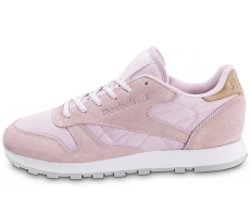 Chaussures Reebok Classic Leather Sea Worn rose