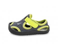 Chaussures Nike Sunray Protect TD Bébé grise