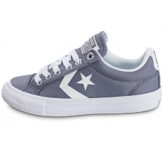 Chaussures Converse Star Player OX Enfant grise
