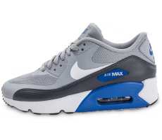 Chaussures Nike Air Max 90 Ultra 2.0 Junior grise et bleue
