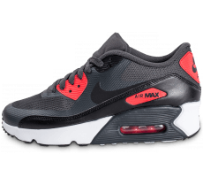 Chaussures Nike Air Max 90 Ultra 2.0 Junior Anthracite et rouge