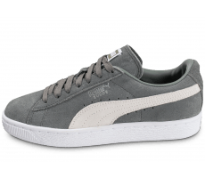 Chaussures Puma Suede Classic + W grise