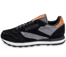 Chaussures Reebok Classic Leather Chambray noire