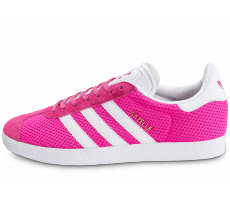 Chaussures adidas Gazelle Mesh rose fluo