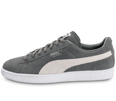 Chaussures Puma Suede Classic + grise