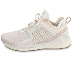 Chaussures Puma Ignite Limitless Reptile blanche