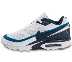 Chaussures Nike Air Max BW Ultra blanche et bleue
