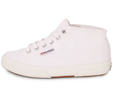 Chaussures Superga Cotu Mid blanche