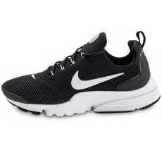 Chaussures Nike Presto Fly noire et blanche