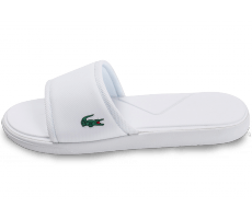 Chaussures Lacoste L30 Slide Sport blanche
