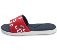 Chaussures Lacoste L30 Slide 117 rouge