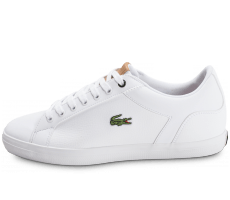 Chaussures Lacoste Lerond Leather blanche