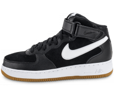 Chaussures Nike Air Force 1 Mid '07 noire
