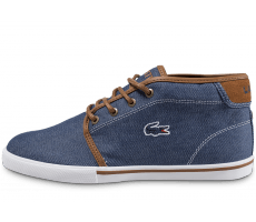 Chaussures Lacoste Ampthill Mid bleue