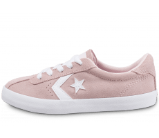 Chaussures Converse Breakpoint Suede Enfant rose
