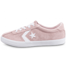 Chaussures Converse Breakpoint Suede Junior rose