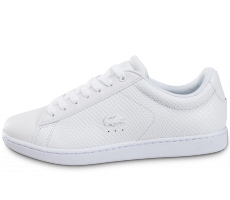 Chaussures Lacoste Carnaby Evo Texture blanche
