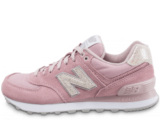 Chaussures New Balance WL574 CIC rose