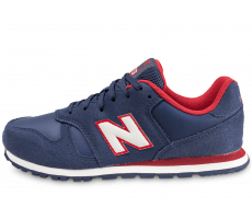 Chaussures New Balance KJ373 NDY Junior bleu marine