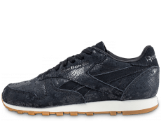 Chaussures Reebok Classic Leather Clean Exotics noire