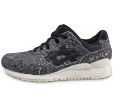 Chaussures Asics Gel Lyte III noire et blanche