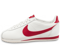 Chaussures Nike Classic Cortez Leather SE blanc rouge