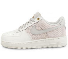 Chaussures Nike Air Force 1 '07 LV8 snake gris clair