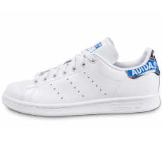 Chaussures adidas Stan Smith Patch Graphique blanche