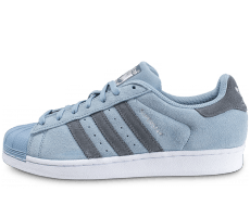 Chaussures adidas Superstar Suede Tactile Blue