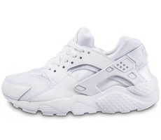 Chaussures Nike Huarache Run Junior blanche