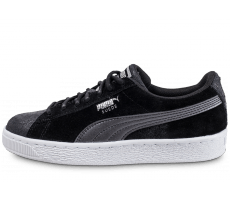 Chaussures Puma Suede Classic W Metal noire