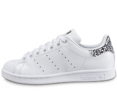 Chaussures adidas Stan Smith The Farm Company blanche et noire