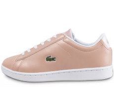 Chaussures Lacoste Carnaby 317 Junior Metal rose