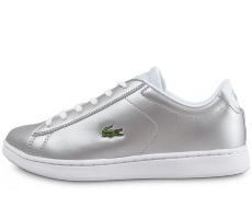 Chaussures Lacoste Carnaby 317 Junior argent