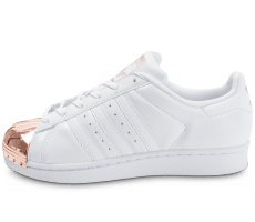 Chaussures adidas Superstar 80s Metal Toe blanche