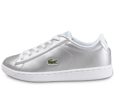 Chaussures Lacoste Carnaby Evo Enfant argent