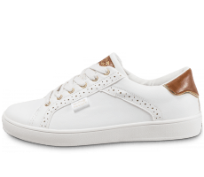 Chaussures Molly Bracken Sneaker Perf blanche