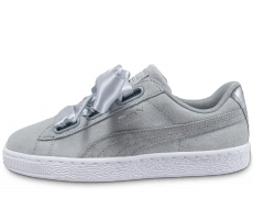 Chaussures Puma Suede Heart Safari Quarry