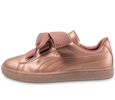 Chaussures Puma Basket Heart Copper