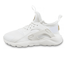 Chaussures Nike Huarache Ultra Enfant blanche et or