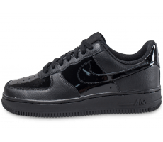 Chaussures Nike Air Force 1 '07 W Vernis noire Patent