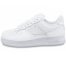 Chaussures Nike Air Force 1 '07 W vernis blanche Patent