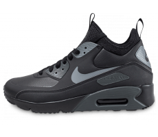 Chaussures Nike Air Max 90 Ultra Mid Winter noire