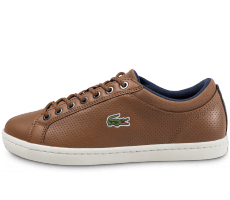 Chaussures Lacoste Straightset marron