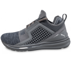 Chaussures Puma Ignite Limitless Knit grise